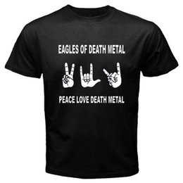 Canada eagles of death metal peace love death metal Tee shirt Homme Noir Taille S à 3XL Offre
