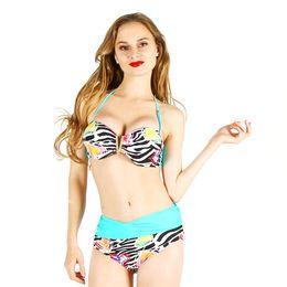 Wholesale European Hot Bikini Sexy - Hot Sale European and American fast selling hot big code bikini body sexy swimsuit can be wholesale