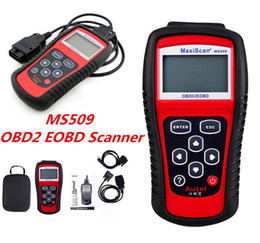Wholesale code detector - Autel MS509 MaxScan Code Reader OBD2 FT232BL OBD Scanner Motor Vehicle Detector Scanner Code Reader Autel MS 509 GS 509 GS509 Print