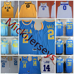 af5051af1 jersey bills red Canada - Mens NCAA UCLA Bruins Lonzo Ball College  Basketball Jerseys Russell Westbrook