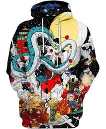 шикарные женские пальто Скидка Осень балахон мужчины 3D толстовка Унесенные духом пальто верхней одежды аниме вентиляторы коллекция толстовки шикарный пуловер S-5XL женщины перемычка 3D толстовка