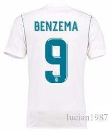 762c4f08d 1718 Real Madrid TOP Calidad tailandesa Karim Benzema camisetas de fútbol  personalizadas Descuento Camisetas de fútbol baratas Kroos RONALDO Camisetas  de ...