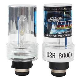 Lâmpadas de substituição de xenônio on-line-2 pçs / lote cabeça lâmpada de luz do farol do carro lâmpadas de substituição D2R Xenon lâmpada HID 35 W 8000 K carro-styling