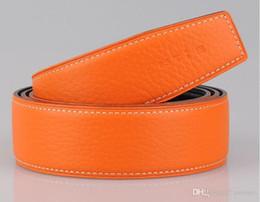 Wholesale H Belts For Women Fashion - 2018 Hot brand original designer gold buckle H belts for men women luxury belt fashion mens real leather belts wholesale