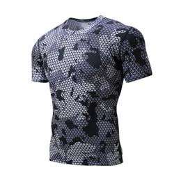 2019 шорты для подъема веса 3D Майка мужчины сжатие фитнес плотно Crossfit топы синий с коротким рукавом футболки мужчины базовый слой Тяжелая атлетика спортивная футболка скидка шорты для подъема веса