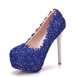 Elegant high heels with chrome spike heels.. RB