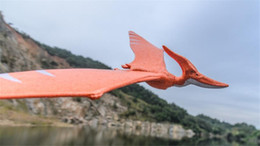 Wholesale Throwing Flying Toys - Children Outdoor Toy Hand Launch Throwing Glider Aircraft Inertial Foam Glider Shark Eagle Dragon Model Flying Toy For Kids Gift