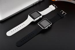 2019 недорогой слот телефон Смарт-часы X6 Дешевые Изогнутый экран Смарт-часы Браслет Телефон с SIM-картой Слот для TF-карты с камерой для Samsung LG Sony HuaWei XiaoMi OTH258 дешево недорогой слот телефон