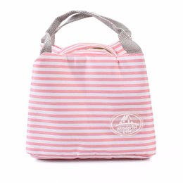 Wholesale Insulated Lunch Bag Black - Handle Lunch Bag Container Storage Insulated Cooler Travel Portable High Quality