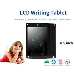 Wholesale Mechanical Drawings - LCD writing tablet digital drawing board for kids electronic writing pad for kids 8.5 inch smart writing pad with stylus