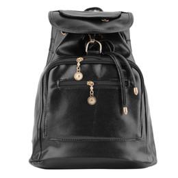 продажа кожаных сумок Скидка 2018 NEW Vintage Women's Backpack Travel New Wind Tide PU Leather Bags Rucksack Travel Satchel Shoulder School Strap Bag Sale