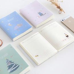 Wholesale Kawaii Diary Book - personal diary planner notebook personal diary planner book cute kawaii pure fresh beautiful cat notebook plan