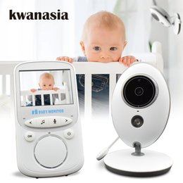 2019 audio électronique 2.4 pouces sans fil bébé moniteur vb605 audio vidéo baba électronique portable interphone bébé caméra nounou talkie walkie babysier audio électronique pas cher