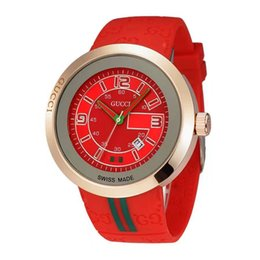 Wholesale Watch Geneva Plastic - The latest trendy leisure influx of creative Geneva watch male and female students couple watches factory outlets