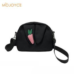 b9034f1ed095 Cute Rabbit Ear Handbag Lovely Carrot Sling Bag for Women Ladies Shoulder  Satchel Bags Messenger Crossbody Bags Bolsa Feminina