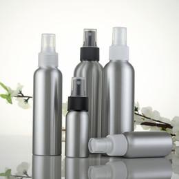 Wholesale Empty Water Bottle Spray - Empty 30ml 50ml 100ml 120ml 150ml Aluminum Mist Spray Bottle Refillable Bottle for Cosmetic Water P146