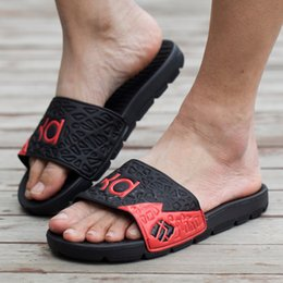 Canada Mode Hommes Sport Sandales Hommes KD Kevin Durant Sandales Homme Sandalias De Hombre Plage Casual Swim Wear Chaussure cheap casual mode men Offre