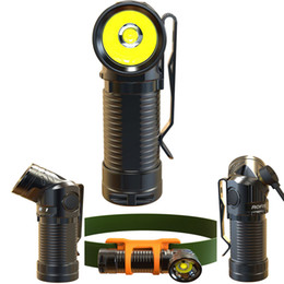 Wholesale Rechargeable Headlight Usb - Rofis R1 900 Lumens USB Charge LED Headlight Headlamp Head Light Outdoor Flashlight Torch RCR123A Battery