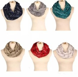 Wholesale Girls Piano - Ladies Music Note neckerchief 8colors for choose Women Music Piano Notes Script Print Scarves Female soft Autumn Ring B11