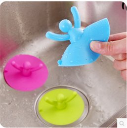 Wholesale Up Environmental - Lovely Villain Pool Rubber Stopper Silicone Floor Drain Cover Environmental Protection Easy Cleaning Sewer Lid Can Be Lift Up 1 8zb Y