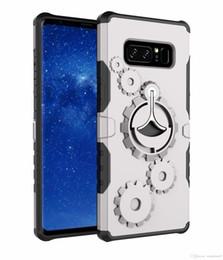 Canada Gear Armor Kickstand Couverture de téléphone Pour Samsung Galaxy Note 8 S7 8 bord, plus TPU En Plastique Retour Couvre Cas avec Téléphone Bras Bande OPP Sac Offre