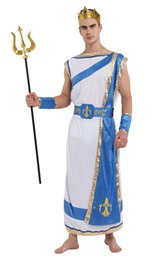 2019 vestiti di mascheratura femminile Shanghai Story Nettuno Poseidone Cosplays Halloween Il re di tutti gli dei Zeus costumi Carnevale Purim Masquerade party dress