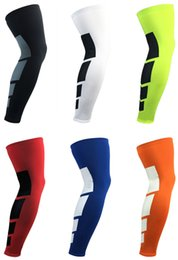 Wholesale Green Pain - Custom Logo Anti Slip Full Length Compression Leg Sleeve Support Protect for Pain Relief &Recovery Athletic Accessory Free DHL G434S