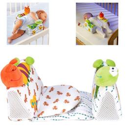 Posicionador infantil almohada online-Forma de los animales almohada del bebé Recién nacido Anti Roll Pillow Sleep Posicionador infantil Prevenir Flat Head Cushion nueva moda