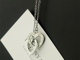 Collier pendentif amour titane coeur en Ligne-Coeur aimant pendentif amour ouvert barre verticale pendentif colliers bracelets bagues boucles d