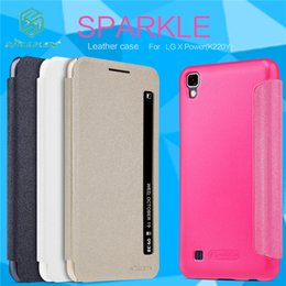 Canada Pour LG X Power K220DS K220 Housse De Couverture D'origine Nillkin Flip Smart Sleep Veille Réponse Du Téléphone Pour LG X Power K220 Téléphone Case supplier original nillkin case Offre