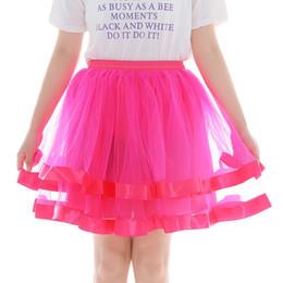 2019 baile sexy para mujeres 2019 nuevas señoras de la moda de tul baile falda para mujer faldas chicas sexy alta calidad de gasa plisada falda de encaje corto vestiti donna baile sexy para mujeres baratos