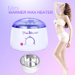 Wholesale hair wax heater - New Warmer Wax Heater Mini SPA Hand Epilator Feet Paraffin Wax Rechargeable Machine Body Depilatory Hair Removal Tool
