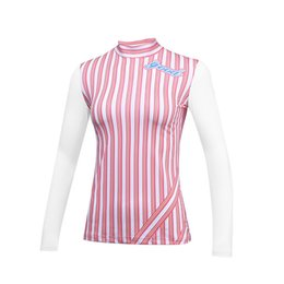 e3e16f3482e Pgm Womens Summer Striped Long Sleeve T Shirts Female Uv Protection Golf  Underwear Ladies Comfort Dry Fit Golf Clothes AA60458