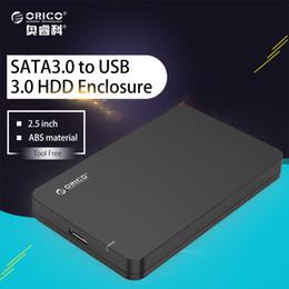 Orico 2.5 on-line-Solução de Armazenamento Móvel ORICO 2.5 SATA 3 para USB 3.0 Disco Rígido SSD Caso Gabinete Externo Suporte UASP Ferramenta Livre Hot-Swap