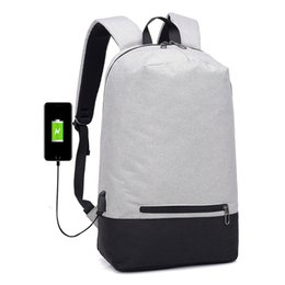 75f601c3f46c Chinese 2018 New Arrival USB Design Backpack Book Bags School Backpack  Casual Rucksack Daypack Waterproof Laptop