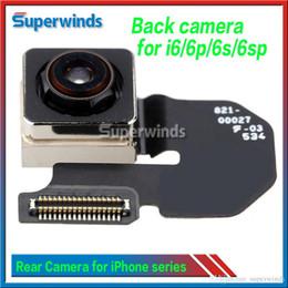 Wholesale main parts - Back Rear Main Camera Module Flex Cable Replacement Repair Parts for iPhone 5 5g 5s 5c 6 6 plus 6s 6S Plus 5.5