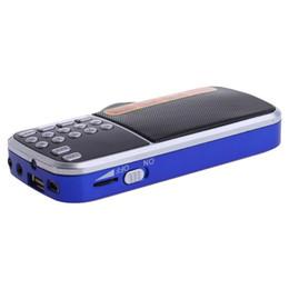 Usb micro sd radio online-OOTDTY Mini LCD Empfänger Digital FM AM Radio Lautsprecher USB Micro SD TF Karte MP3 Player