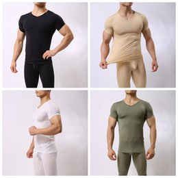 8af8173563 v neck undershirts wholesale Coupons - Wholesale Men's Muscle T-shirt  Sports Bodybuilding Stretch Short
