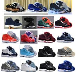 Miami kids en Ligne-Nouveau 11 Miami Hurricanes PE Gym Rouge Midnight Marine Noir Stingray Bred Chaussures 11s Hommes Femmes Enfants Basketball Sneaker