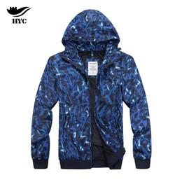 Wholesale Men Casual Vest Outwear - HAI YU CHENG Jackets Male Tactical Windbreaker Coat Casual Mens Jackets Camouflage Jacket Man Rib Cuff Brand Outwear