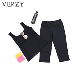 2019 нейлоновые штаны для йоги Йога набор 2 шт. набор женщин твердый жилет + семь центов брюки Spoertswear костюм фитнес дышащий женский нейлон Капри леггинсы + жилет скидка нейлоновые штаны для йоги