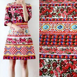 Patchwork morbido fiori patchwork stampato tessuti di cotone al 100% per le donne dei bambini vestito di tessuti Tissus Au Meter tessuti per tessuti fai da te per bambole da