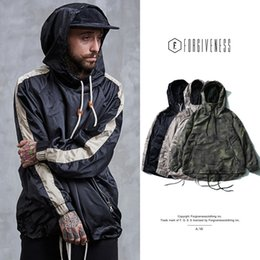 mes jacket NZ - Tide brand, Europe and the United States men's jacket, 2018 during the spring and autumn, restore ancient ways sport coats, hooded lapel, me