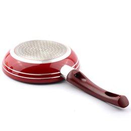 Poêle à frire ronde en aluminium de 7 pouces, poêles à frire en acier inoxydable, poêles à frire avec poignée inclinée pour faire frire le steak de viande ? partir de fabricateur