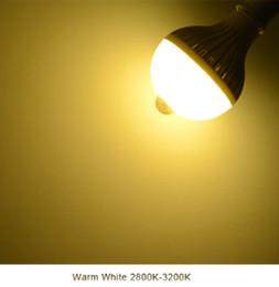 Canada Capteur de mouvement IR Induction LED lampe ampoule 220V E27 5W 7W 9W 12W Smart LED Veilleuse Pour Couloir Allée Escaliers Balcon LLFA supplier ir bulbs Offre