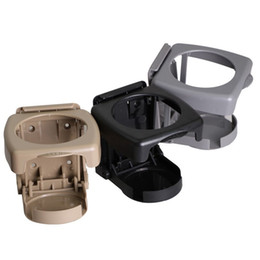Wholesale folding cup holders - Universal Folding Car Cup Holder Foldable Drink Holder Auto Car Truck Stand Holder Folding Drink Bottle Cup Holders OOA4602