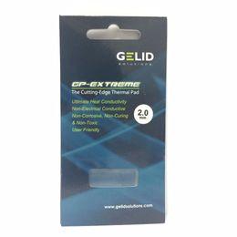 Wholesale Gpu Heatsink - GELID GP-EXTREME 80X40 2.0mm PC CPU GPU Heatsink Cooling North and South Bridge Graphics Card Thermal Pad Conductivity W MK12