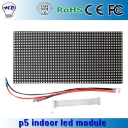 Módulo de pantalla smd RGB a todo color Pantalla de cartelera LED PH5 / P5 32 * 16cm LED en movimiento panel digital desde fabricantes