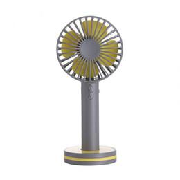 Kleine Klimaanlage Geräte Handheld Fan Mini Tragbare Usb Fan Cartoon Lade Mit Basis Kleine Fan