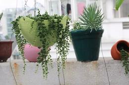 Vasi da fiori appesi cesti appesi fiori in vaso piante di purificazione dell'aria interna famiglia giardino piante grasse Creativo vaso di fiori in plastica supplier plants air purification da impianti di depurazione dell'aria fornitori